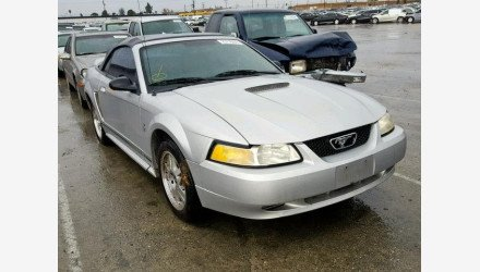 2000 Ford Mustang Convertible for sale 101105005