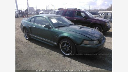 2000 Ford Mustang Coupe for sale 101111070