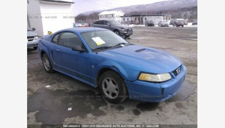 2000 Ford Mustang Coupe for sale 101113341