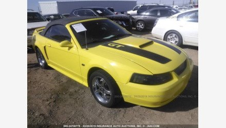 2000 Ford Mustang GT Convertible for sale 101121310