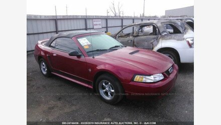 2000 Ford Mustang Convertible for sale 101125779