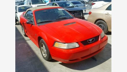 2000 Ford Mustang Convertible for sale 101126938