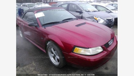 2000 Ford Mustang GT Convertible for sale 101127770