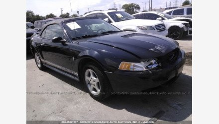 2000 Ford Mustang Convertible for sale 101191504
