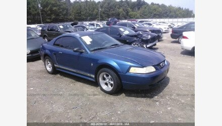 2000 Ford Mustang Coupe for sale 101201766