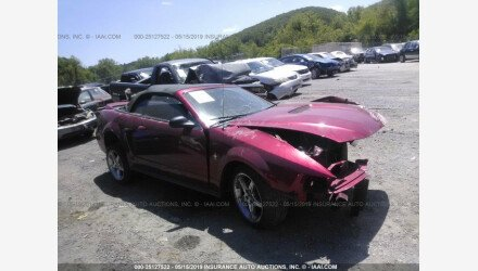 2000 Ford Mustang Convertible for sale 101204421