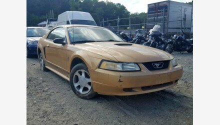 2000 Ford Mustang Coupe for sale 101209027