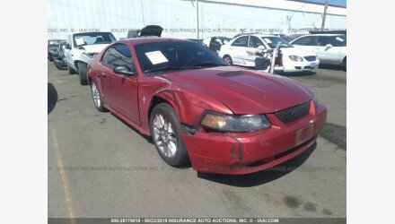 2000 Ford Mustang Coupe for sale 101209161