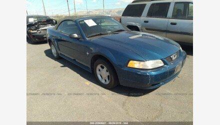 2000 Ford Mustang Convertible for sale 101209995