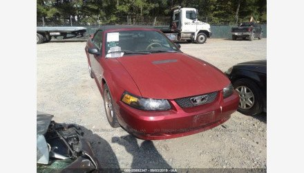 2000 Ford Mustang Convertible for sale 101210523