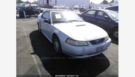 2000 Ford Mustang Convertible for sale 101212507