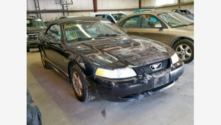 2000 Ford Mustang Convertible for sale 101225016