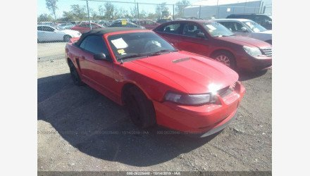 2000 Ford Mustang GT Convertible for sale 101226069