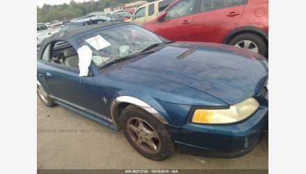 2000 Ford Mustang Convertible for sale 101243014