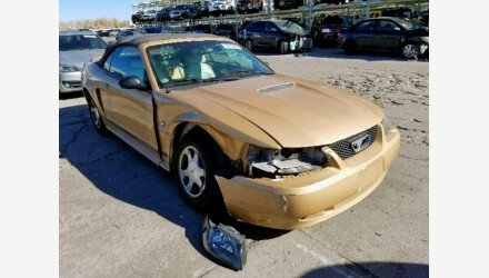 2000 Ford Mustang Convertible for sale 101253335