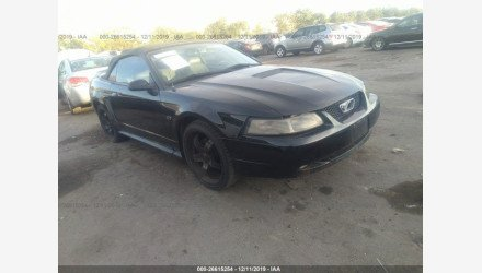 2000 Ford Mustang GT Convertible for sale 101253500
