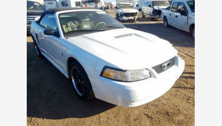 2000 Ford Mustang Convertible for sale 101270993