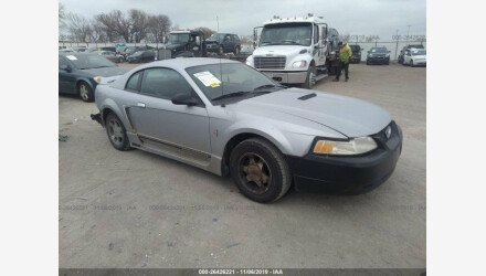 2000 Ford Mustang Coupe for sale 101287980