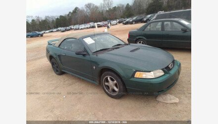2000 Ford Mustang Convertible for sale 101289772