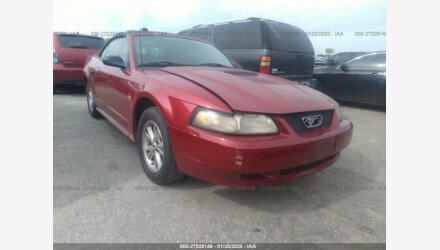 2000 Ford Mustang Convertible for sale 101290277