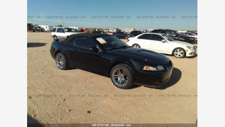 2000 Ford Mustang GT Convertible for sale 101346825