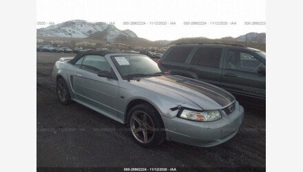 2000 Ford Mustang GT Convertible for sale 101408526