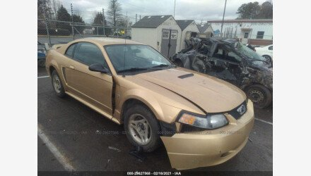 2000 Ford Mustang Coupe for sale 101489129