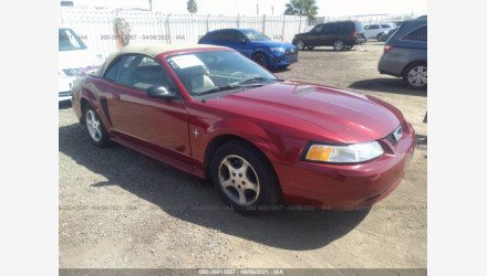 2000 Ford Mustang Convertible for sale 101493501