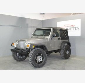 2000 Jeep Wrangler 4WD Sport for sale 101069886