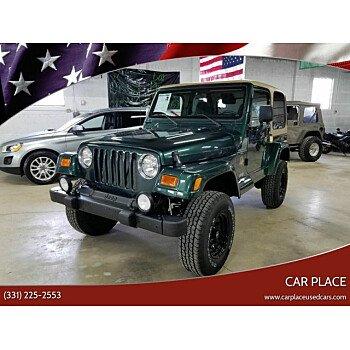 2000 Jeep Wrangler 4WD Sahara for sale 101118359