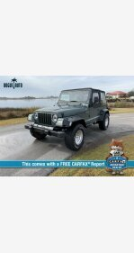 2000 Jeep Wrangler 4WD SE for sale 101243564