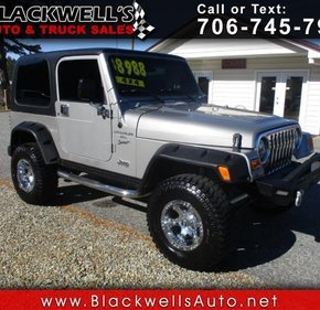 2000 Jeep Wrangler 4WD Sport for sale 101252281