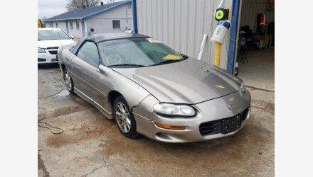 2001 Chevrolet Camaro Convertible for sale 101236988