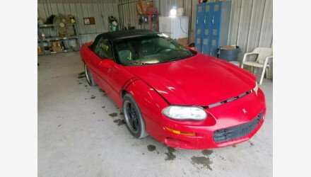 2001 Chevrolet Camaro Convertible for sale 101240908