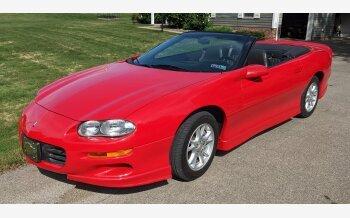 2001 Chevrolet Camaro Convertible for sale 101581223
