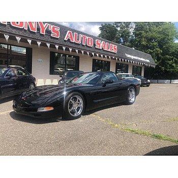 2001 Chevrolet Corvette Convertible for sale 101180236