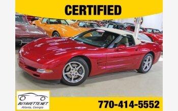 2001 Chevrolet Corvette Convertible for sale 101230497
