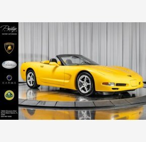 2001 Chevrolet Corvette Convertible for sale 101318567