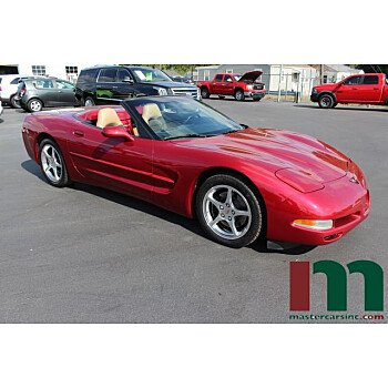 2001 Chevrolet Corvette Convertible for sale 101383942