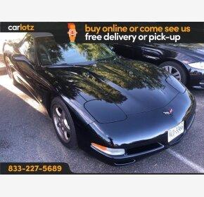 2001 Chevrolet Corvette for sale 101384069