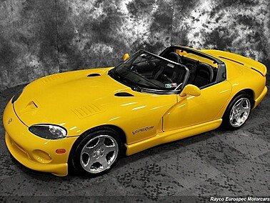 2001 Dodge Viper RT/10 Roadster for sale 101319735