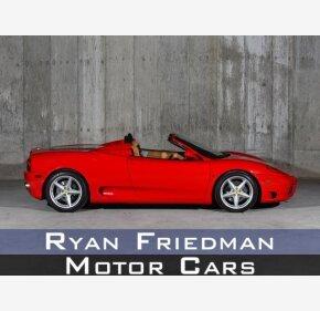 2001 Ferrari 360 Spider for sale 101221884