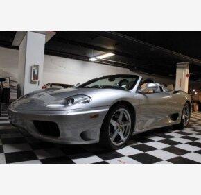 2001 Ferrari 360 for sale 101107483