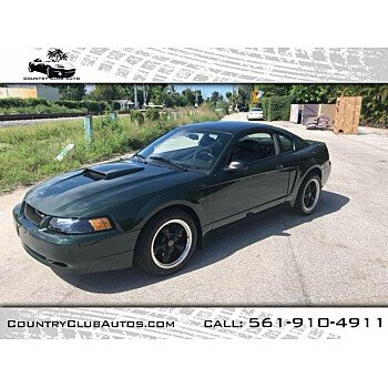 2001 Ford Mustang GT Coupe for sale 101019327