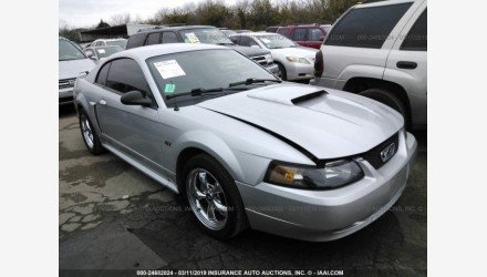 2001 Ford Mustang GT Coupe for sale 101106720