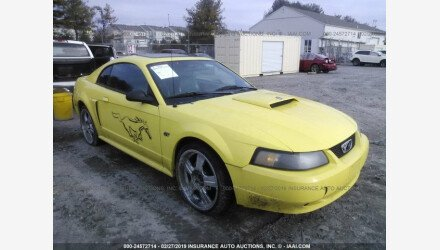 2001 Ford Mustang GT Coupe for sale 101107597