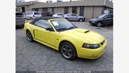 2001 Ford Mustang GT Convertible for sale 101111136