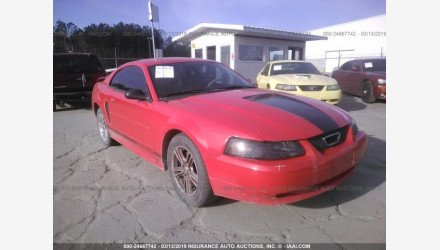 2001 Ford Mustang Coupe for sale 101112780