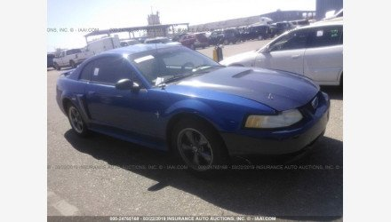 2001 Ford Mustang GT Coupe for sale 101116968