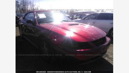 2001 Ford Mustang Convertible for sale 101122309